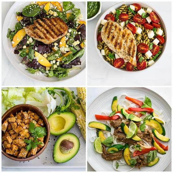 1000-1200 калорий в день