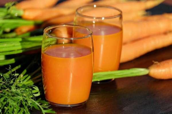 Напиток с морковным соком