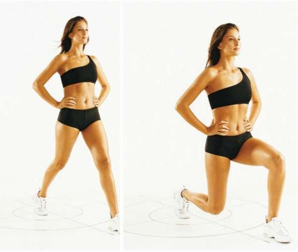 упражнения от целлюлита на ногах и попе