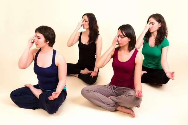 Дыхательные упражнения, фото