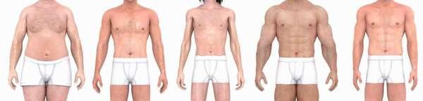 Связь между показателями роста и веса