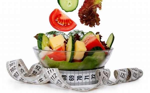 Диеты на овощных салатах