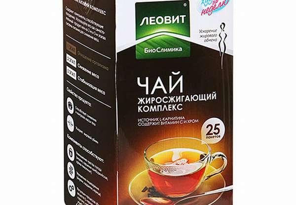 Чай Леовит, жиросжигающий комплекс Биослимика