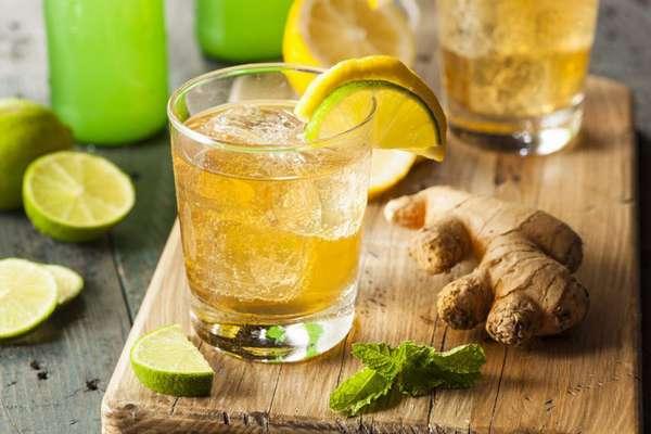 Лимонный напиток для похудения