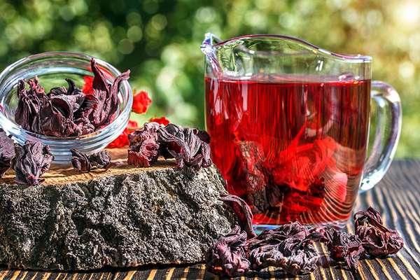 Ванны для похудения с ягодами и чаем каркаде