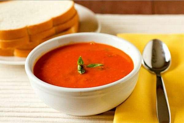 Суп сливочный томатный