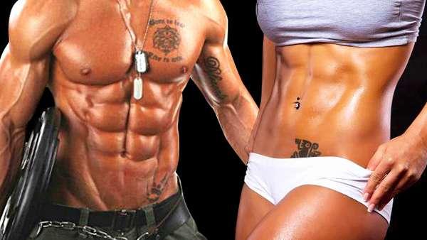 Приобретение рельефа мышц