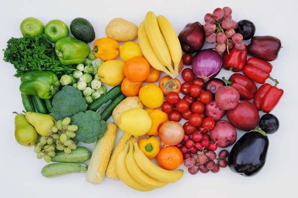 Овощи с фруктами
