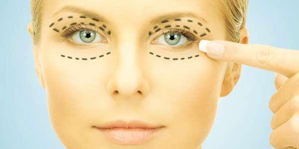 ручной массаж глаз против отеков для девушки