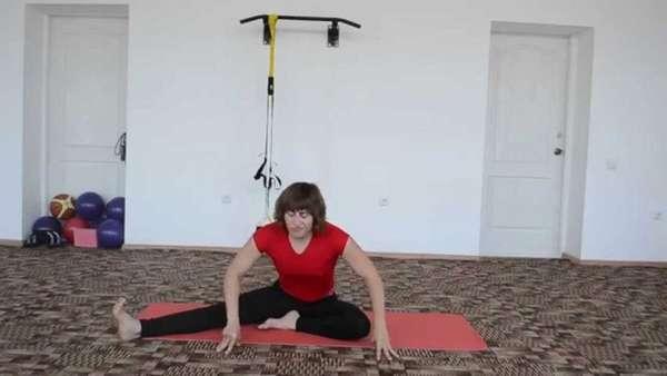 Базовое упражнение бодифлекс