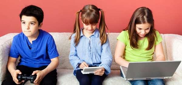 Мало активности в жизни современных детей