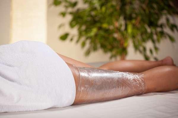 Холодное обертывание ног для похудения