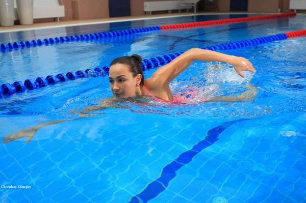 Сложности в похудении при плавании