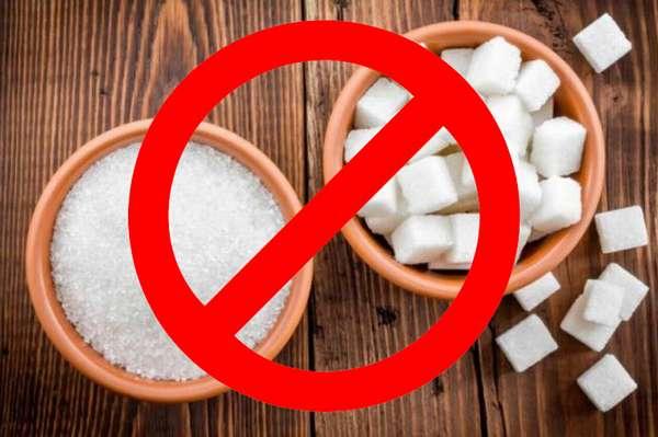 Полный отказ от сахара