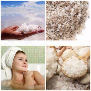 Ванна с содой и солью для похудения