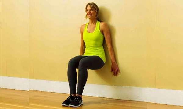 упражнение сползаем по стене