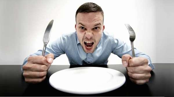 Убивает чувство голода