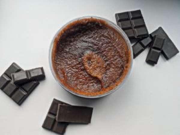 скраб шоколад