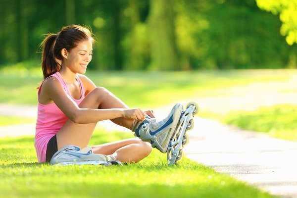 можно ли похудеть катаясь на роликах