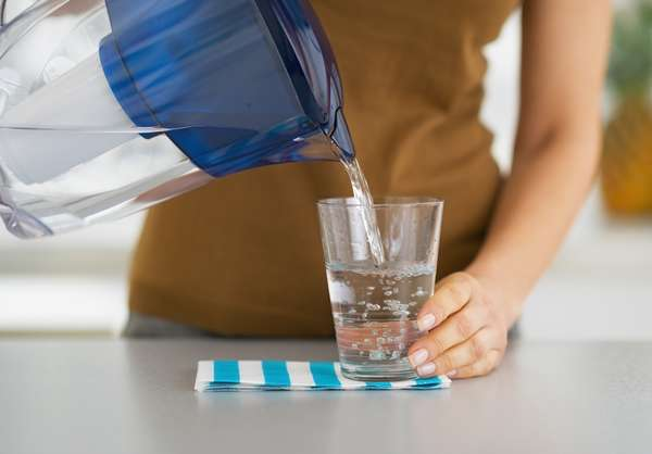Перед приемом пищи пить стакан воды