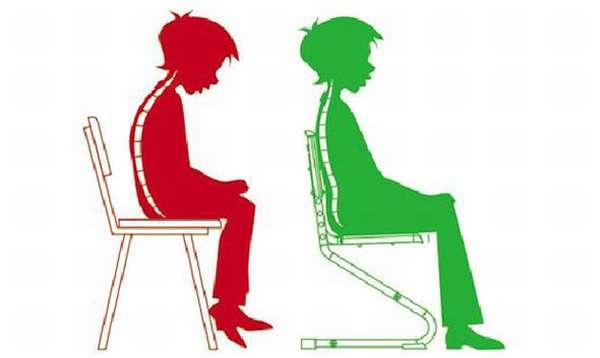 нарушения осанки сидя