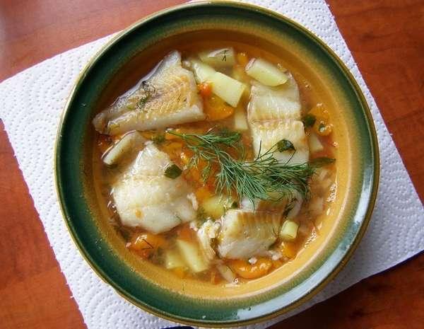 Супы на мясном и рыбном бульоне