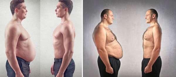 упражнения для похудения живота и боков для мужчин