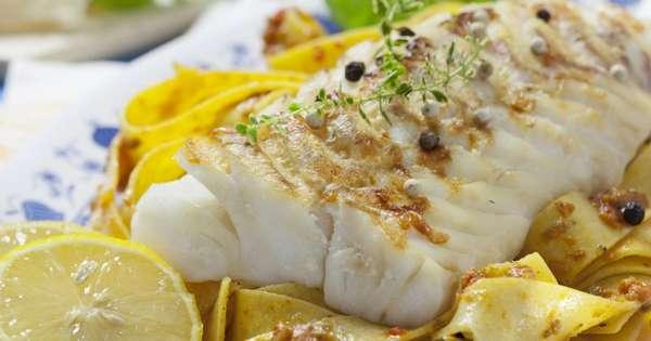 Филе белой рыбы