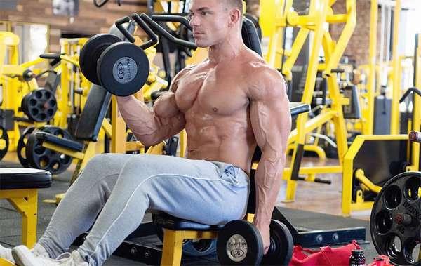 Силовые упражнения во время сушки