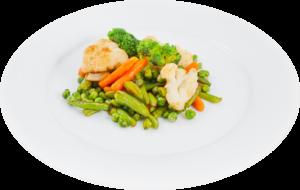 Вареные овощи