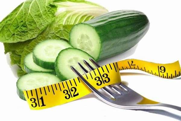 Съедать около килограмма огурцов ежедневно