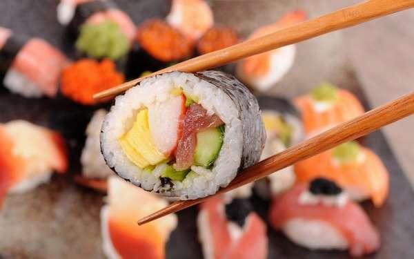 Ешьте суши