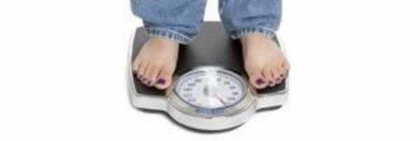 Неравномерное колебание веса