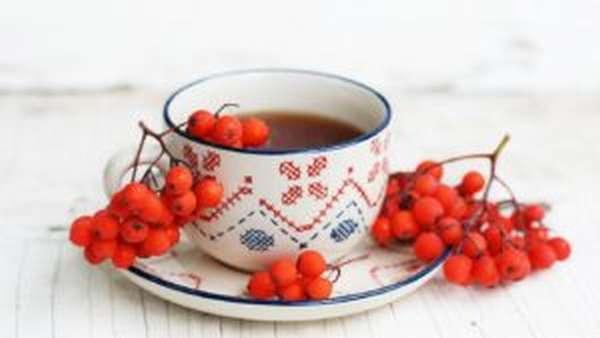 Чай из плодов рябины