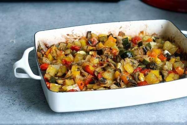 Рагу из овощей на ужин