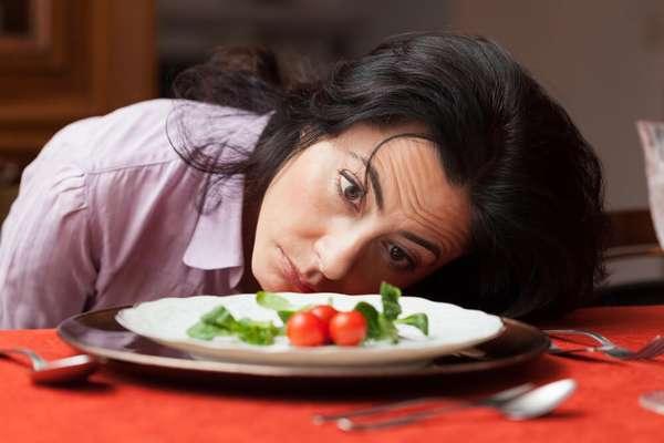 низкокалорийные диеты способны вызвать упадок сил