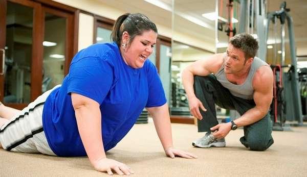 Спорт при значительном избытке веса