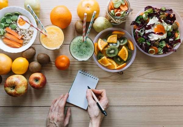 Составьте план питания