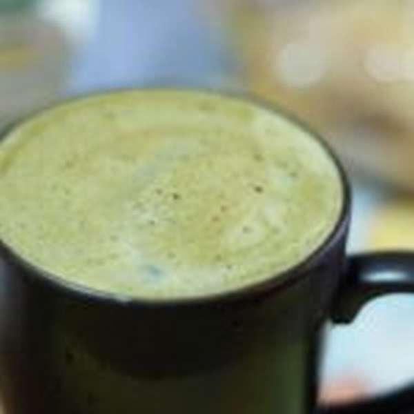 зеленый чай с кефиром