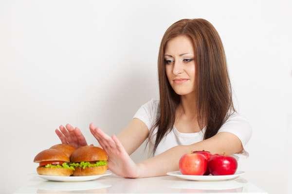 Отказ от любой нездоровой пищи
