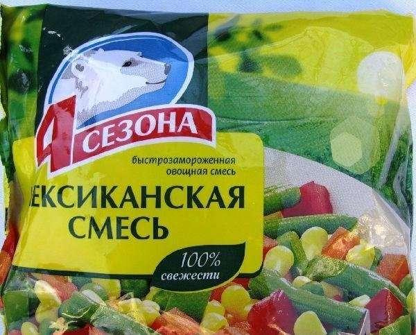 овощная смесь без риса