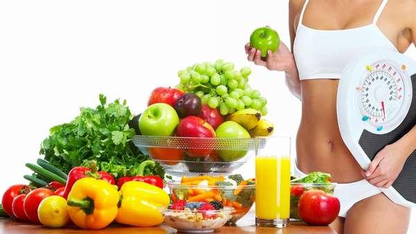 Наглядный расчёт для режима похудения