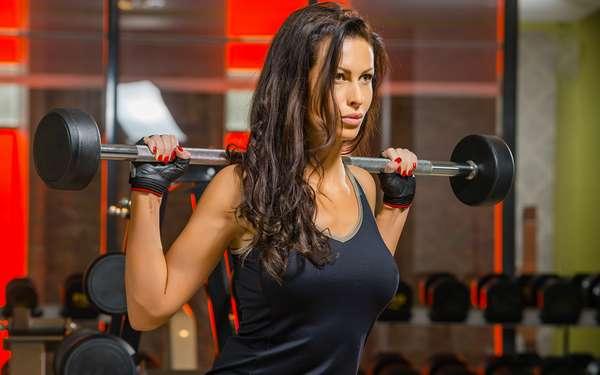 тренировки для девушек, фото