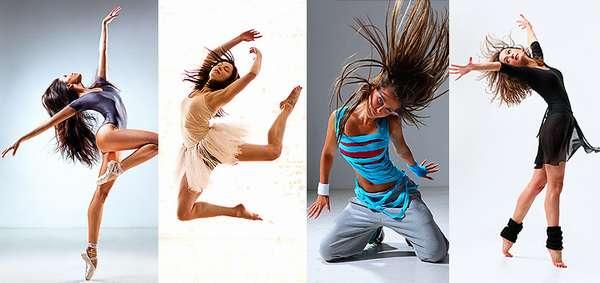 Различные виды танцев