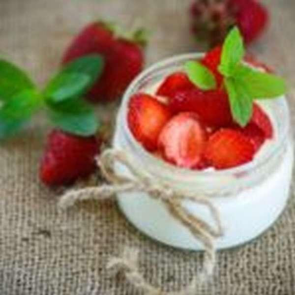 Сладкие йогурты