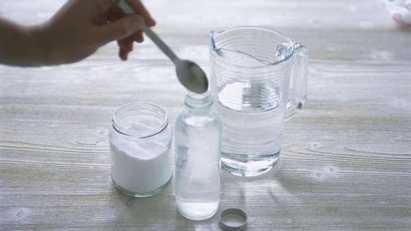 Солевой раствор для обработки ран