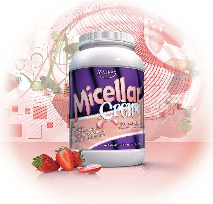 Мицеллярный казеин - Micellar Creme от Syntrax