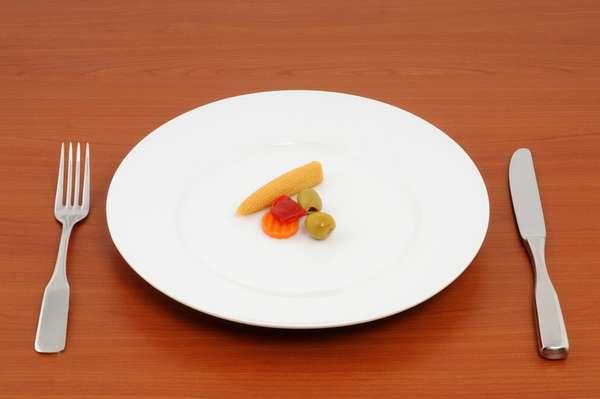 Быстрое насыщение малым количеством еды
