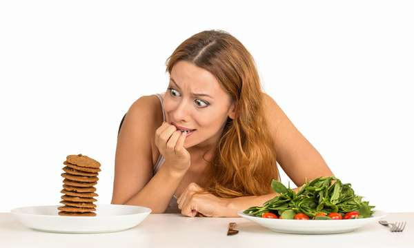 Не все люди могут сидеть на диете долгое время