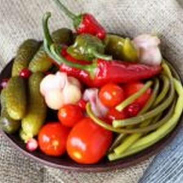 Солёные овощи
